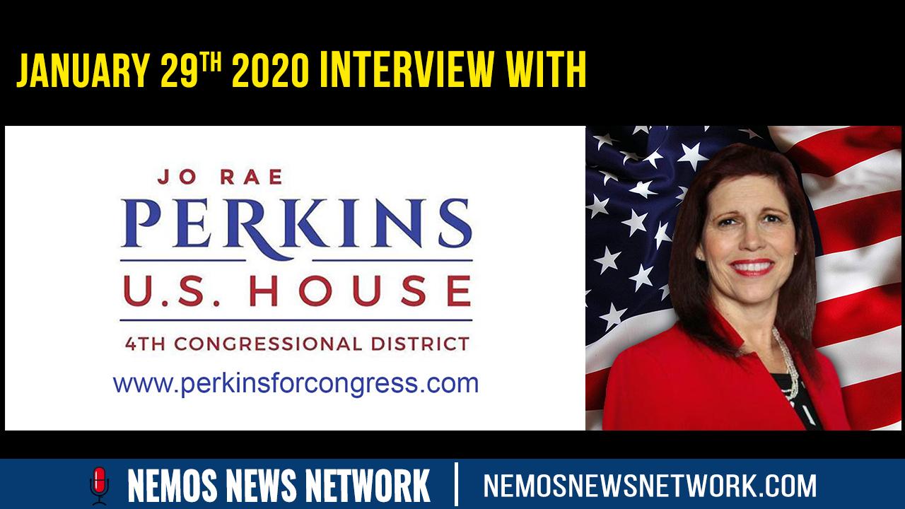 Jo Rae Perkins for Senate (Oregon) - WWG1WGA
