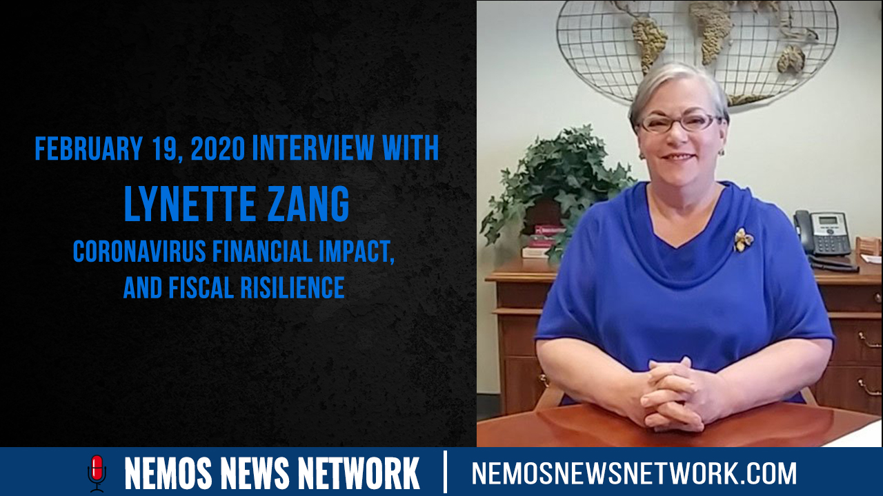 2.19.2020 - Lynette Zang on CoronaVirus Financial Impact, And Fiscal Risilience