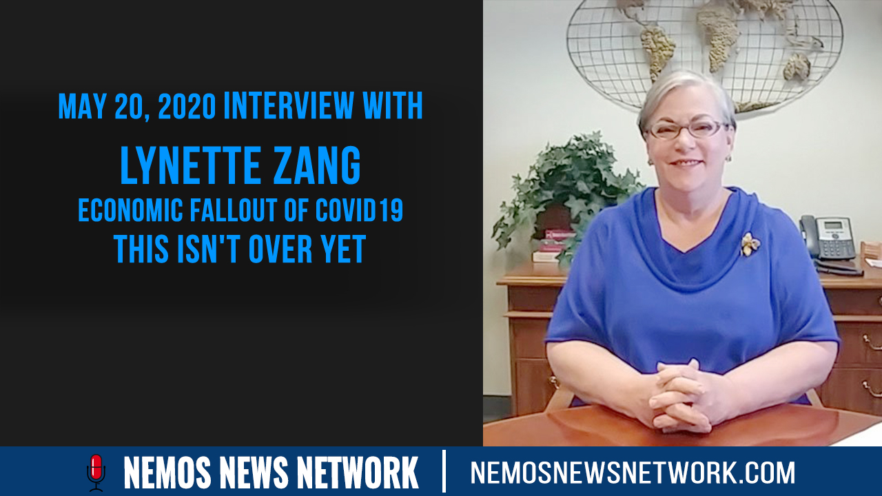 5.20.2020 - Lynette Zang and Dustin Nemos discuss Economic Fallout of Covid19, This Isn't Over Yet.