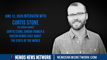 6.12.2020 - Curtis Stone, Urban Farmer & Dustin Nemos Chat about The State of the World