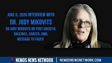 6.6.2020 - Dr Judy Mikovits on Fire! Covid19, Vaccines, Cancer, Gmo, MESSAGE TO FAUCI!