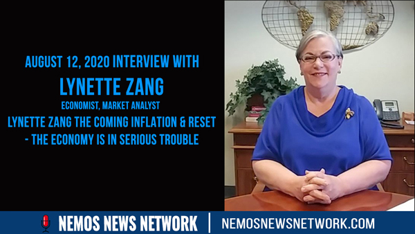 Lynette Zang & Dustin Nemos Discuss the Coming Inflation & RESET - The Economy is In Serious Trouble