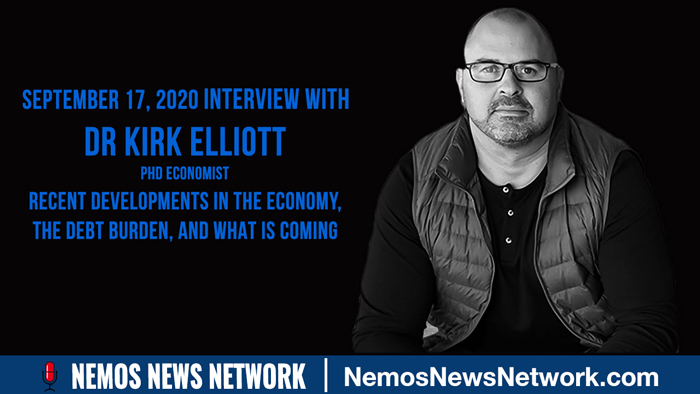 Dr Kirk Elliott on Recent Developments in the Economy, the Debt Burden, and What is Coming..