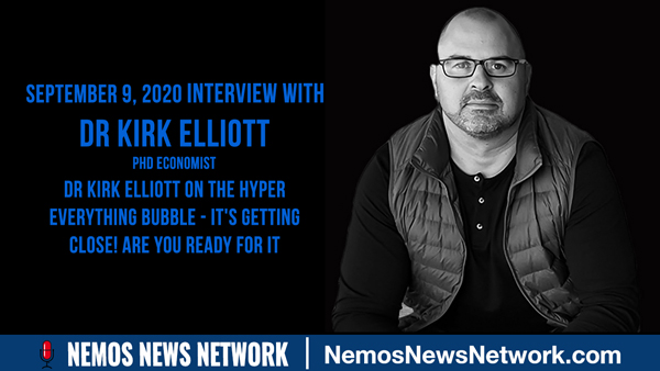 Dr Kirk Elliott on the Hyper Everything Bubble - It's Getting Close! Are you Ready for it